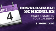 Schedules and Downloads