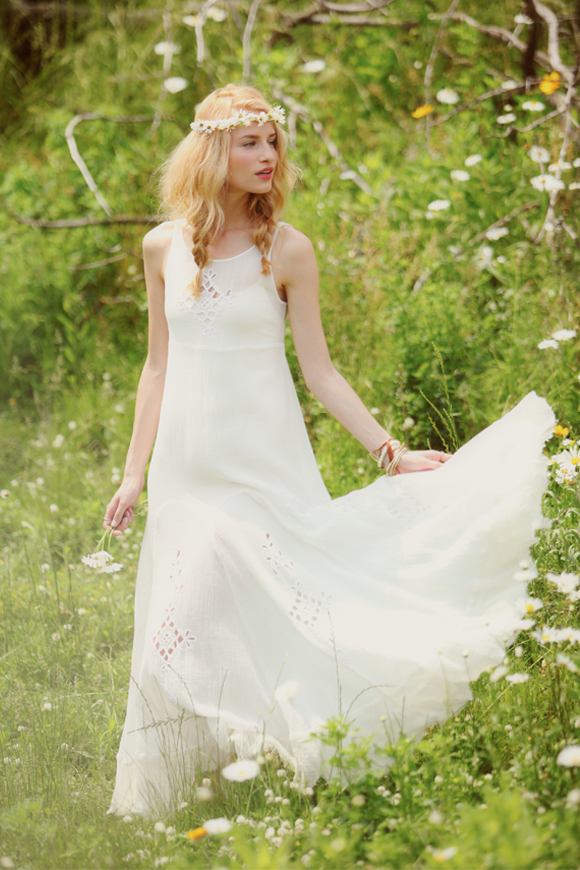beach bride dress Hippie Bohemian Wedding Dresses for a Romantic Summer