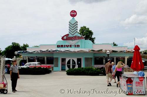 Coasters Drive In Diner Michigan's Adventure