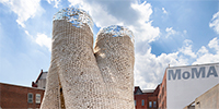 A 40-Foot Tower Made of Living Fungus Bricks