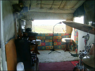 Muskie Studio from the inside