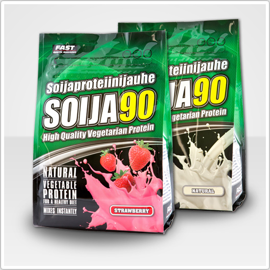 SOIJA90 is natural vegetable protein - Energy boosting in soya meal !