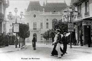 Casino-Kursaal de Montreux. Carte postale ancienne.