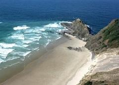 Reinga Beach.