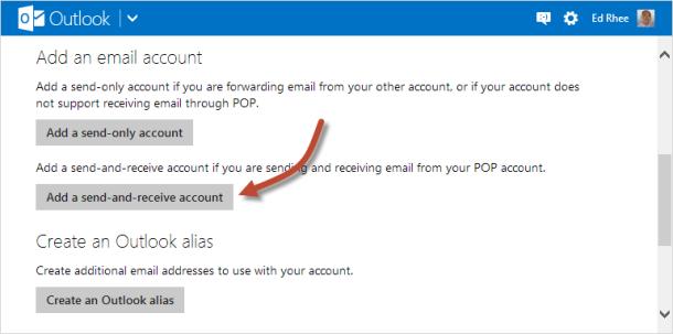 Gửi e-mail từ các địa chỉ khác trong Outlook