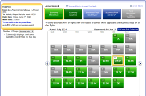 LAX-OGG for 2 people availability
