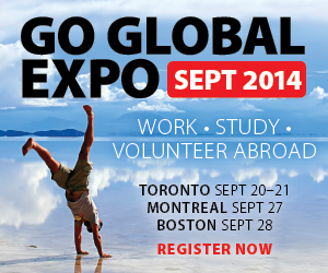 Go Global Expo: Work abroad, study abroad, volunteer abroad