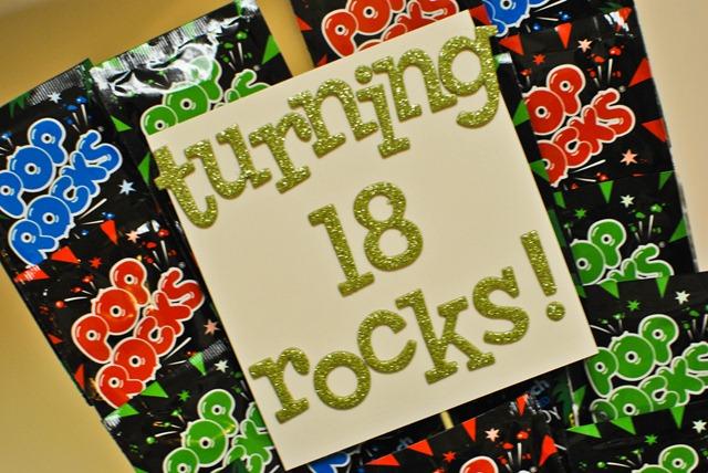 turning 18 rocks pop rocks birthday gift 2