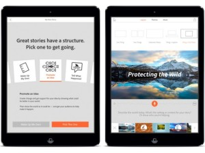 Free Storytelling Video App Through Adobe Voice For iPad