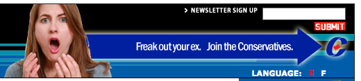 Freak out your ex CPC banner