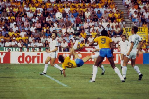 Soccer - World Cup Spain 1982 - Group Six - Brazil v New Zealand - Benito Villamarin Stadium, Saville