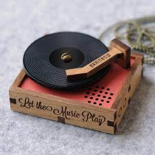 mini portable record player