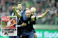 Scott Brown won't be celebrating when he see's what price fans are expected to pay for Euro 2016 tickets