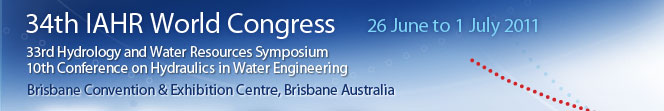 34th IAHR Biennial Congress, Brisbane Australia