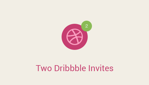 Giveaway-Two-Dribbble-Invites-for-Designers