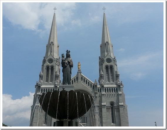 St Ann de Beaupre Quebec Cathedral DownshiftingPRO_1