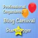 Professional Organizers Blog Carnival