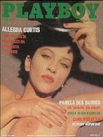 Cover Model Allegra Curtis (Playboy Turkey April-1989)