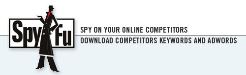 Spyfu Competitive Intelligence Spy on Competitors AdWords and Keywords