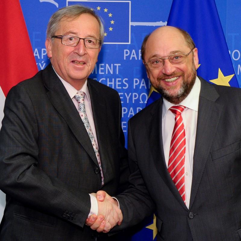EP President meets Jean-Claude Juncker