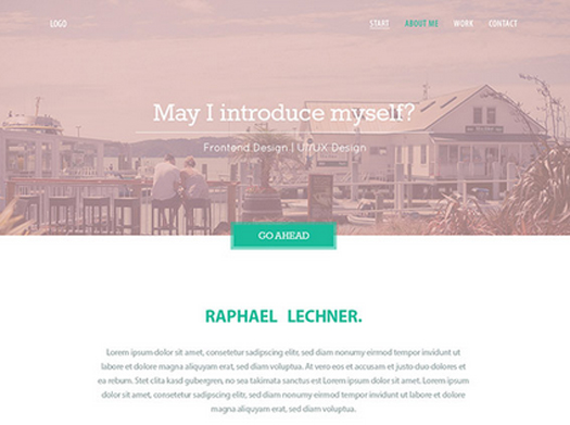 Variety – Free PSD Website Template