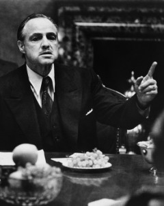 """Marlon Brando's career was """"ice cold"""" at the time he was cast in 1972's The Godfather, a movie that went on to earn eight Academy Award nominations."""