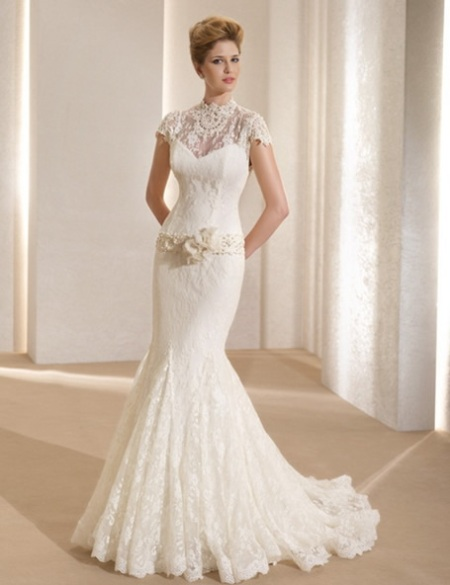 idea lace wedding dress 5 | Idea Lace Wedding Dress Sleeves