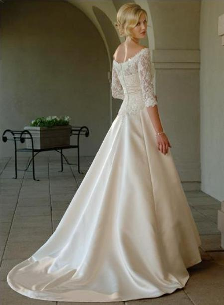 idea lace wedding dress 4 | Idea Lace Wedding Dress Sleeves