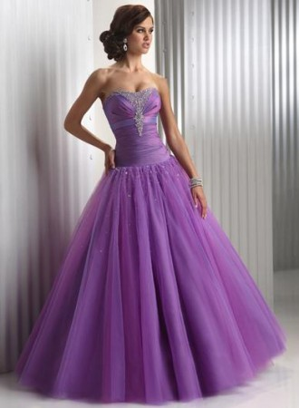 purple prom dresses pinterest 330x450 | Best Purple Prom Dresses