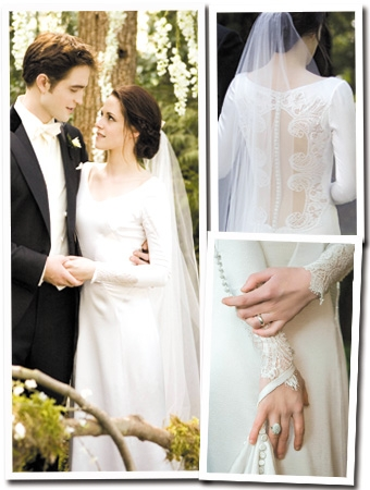 2 Bellas amazing wedding dresses in Twilight movie