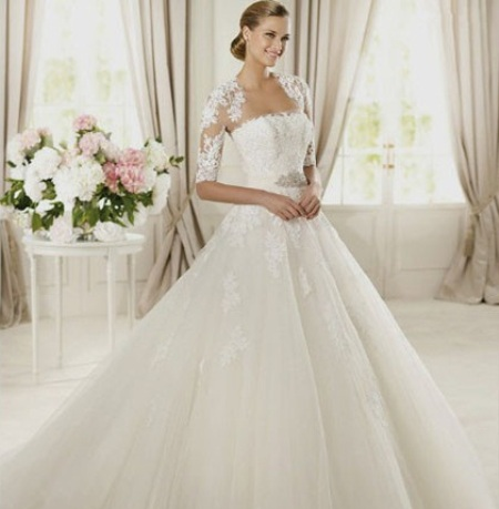 idea lace wedding dress 1 | Idea Lace Wedding Dress Sleeves