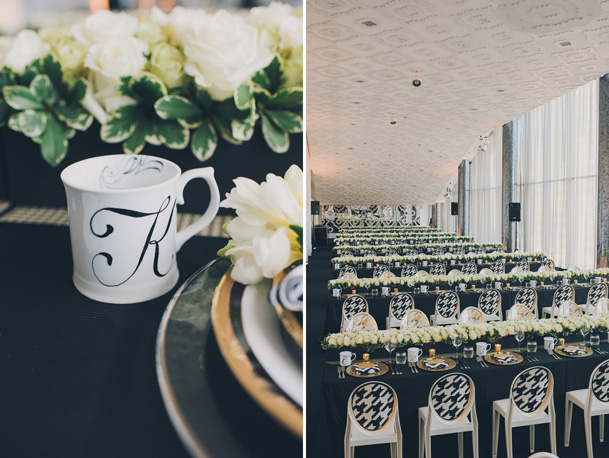 graphic black white pattern wedding modern (32)