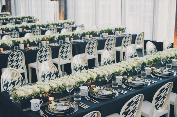 graphic black white pattern wedding modern (34)