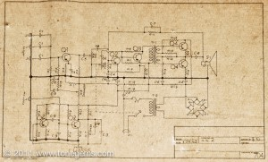 Kay 704A Schematic Diagram