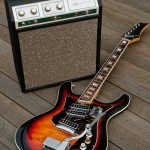 Silvertone 1445 Guitar and 1421 (Sears 10XL) Combo Tube Amp