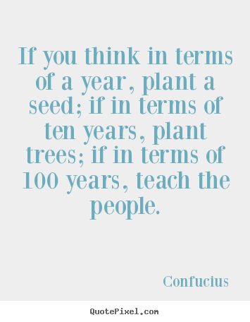 Plant a Seed Quotes