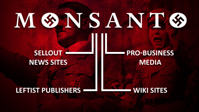 Monsanto-Nazi-Tree-Publishers-Hitler-Goebbels