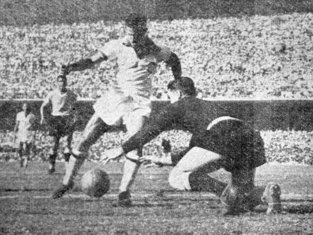 Ademir x Maspoli - final de 1950