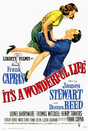 It's A Wonderful Life, Movie With James Stewart And Donna Reed...