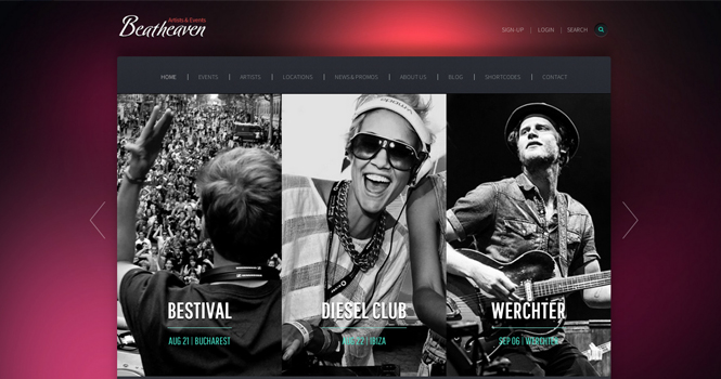 Music WordPress Theme