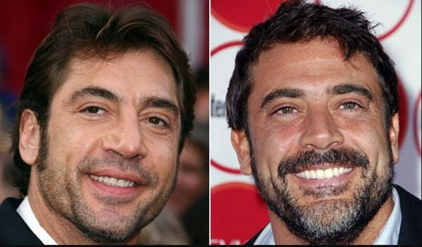 1.) Javier Bardem & Jeffery Dean Morgan