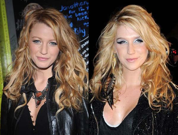 9.) Blake Lively & Ke$ha