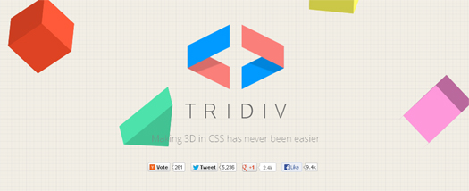 Web-based Editor for Creating 3D Shapes in CSS - Tridiv