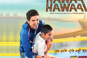 'Hawaa Hawaai' starring young actor Partho Gupte, trundles on, leaps up intermittently, but doesn't fly.
