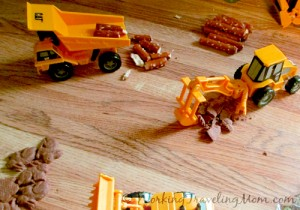 Caterpillar Construction Equipment toys in action