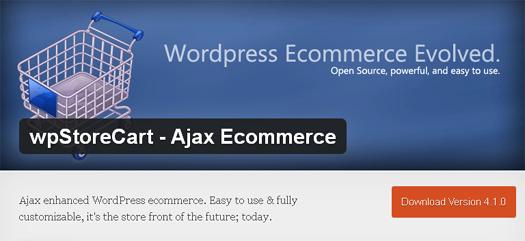 wpStoreCart - Ajax Ecommerce