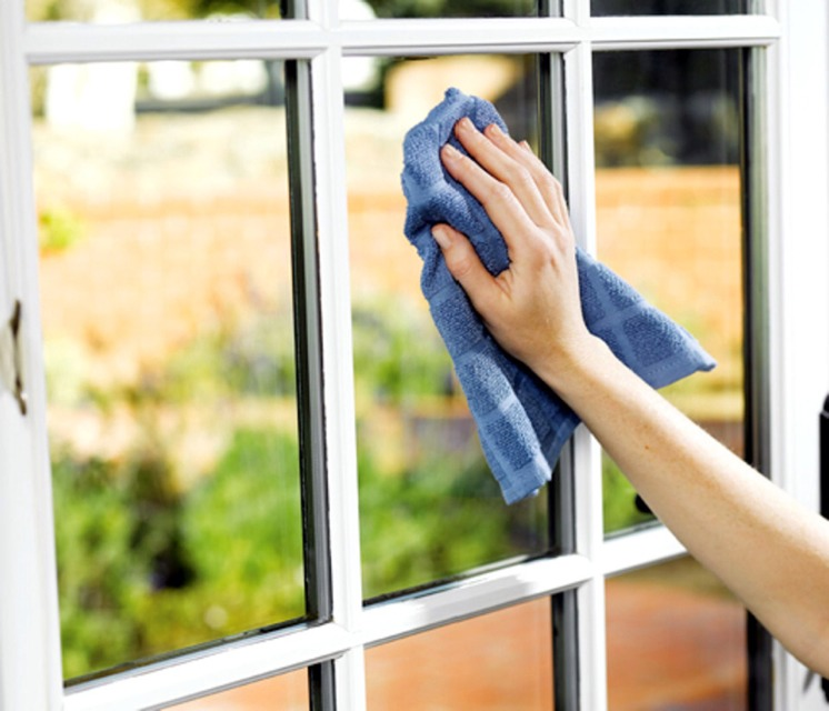 19. Cleans Windows