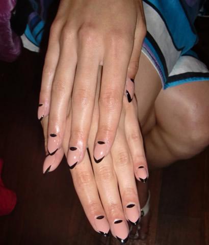 голые ногти 2013