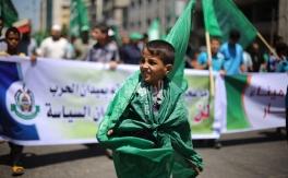 مسيرات حاشدة بغزة تدعم المفاوض المقاوم