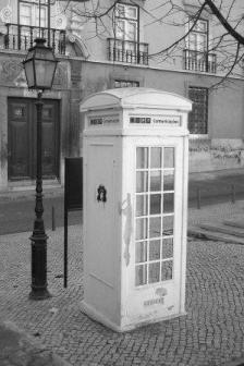 Cabina telefónica, Lisboa, 2004